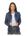 Monica - Women Genuine Soft Black Leather Jacket - 1