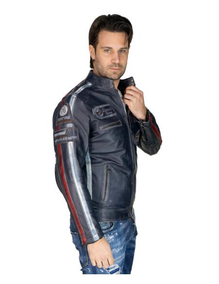 020 - Giacca Donna in Vera Pelle colore Nero Morbida