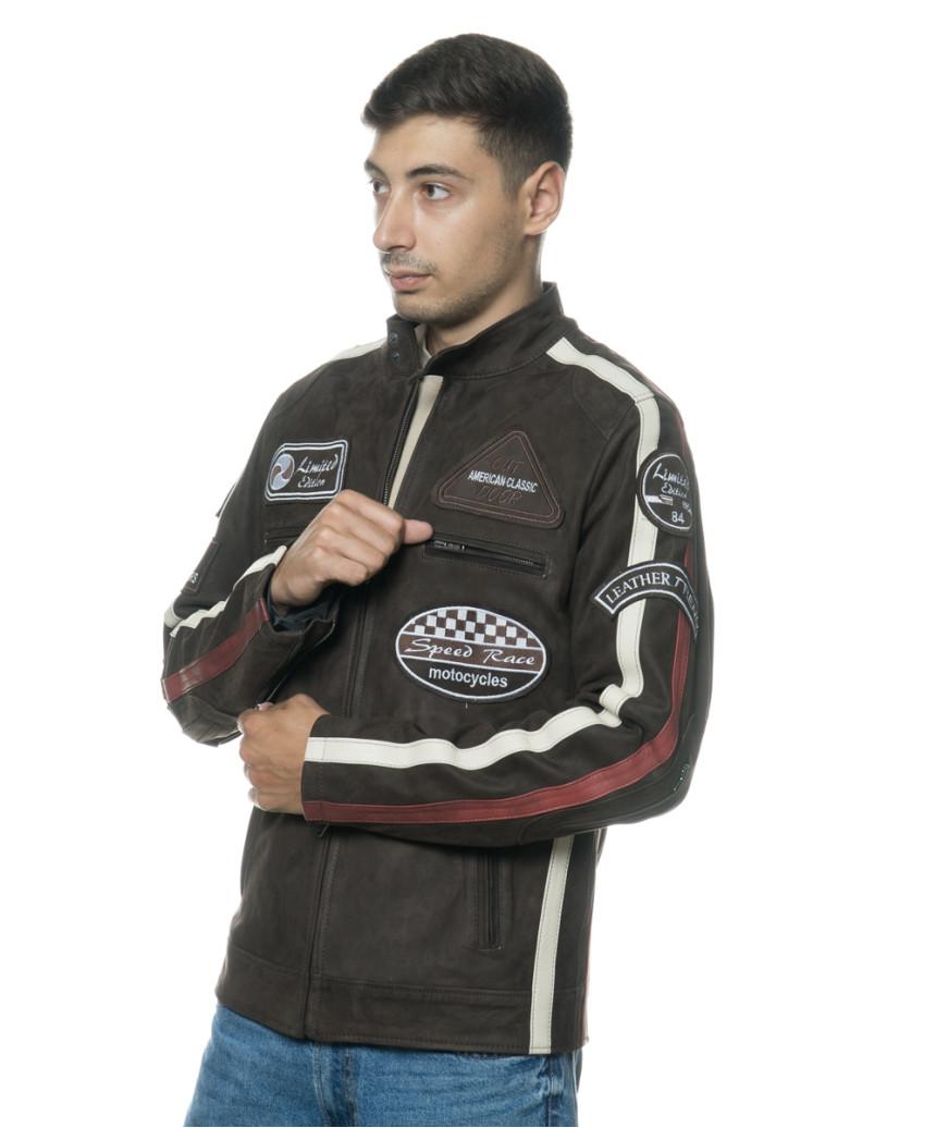 Colima - Giacca Donna Vera Pelle colore Grigio Tamponato - 5