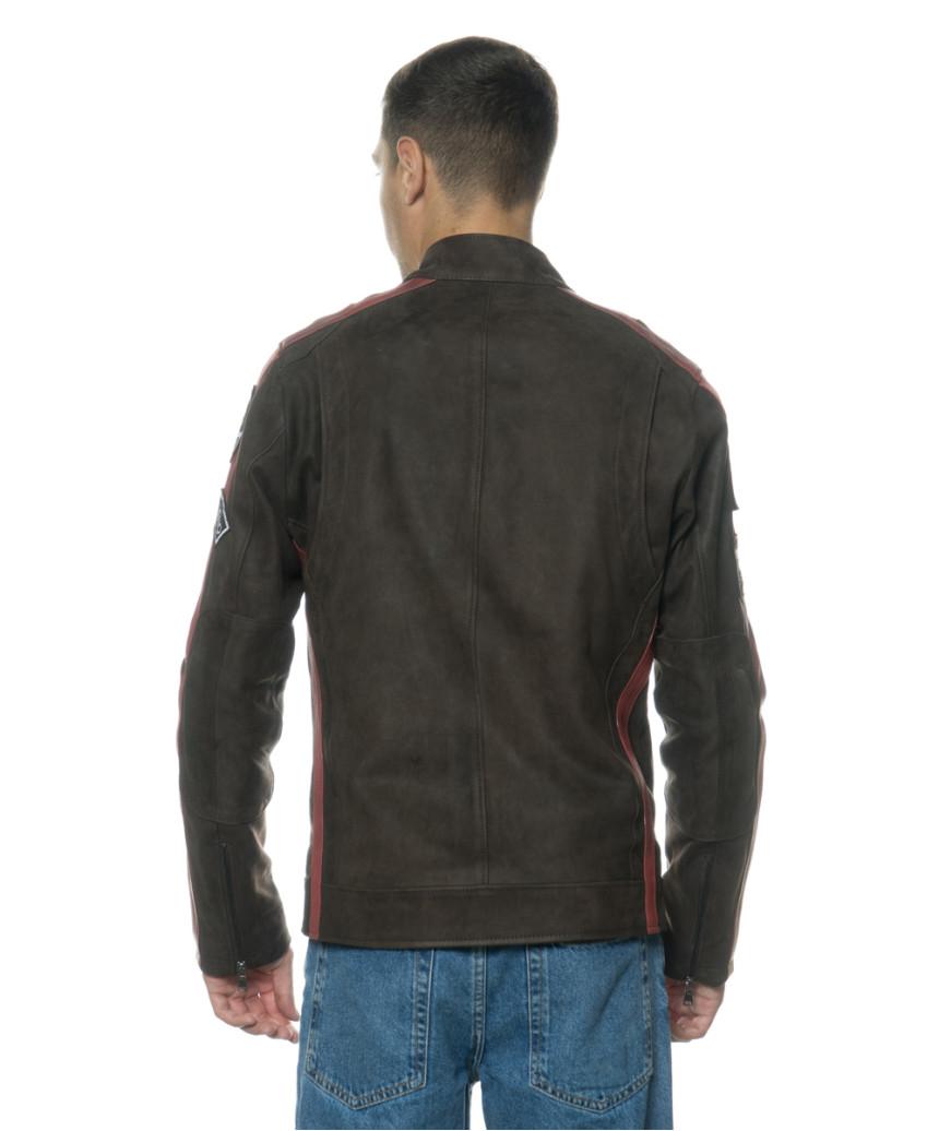 Colima - Giacca Donna Vera Pelle colore Grigio Tamponato - 6
