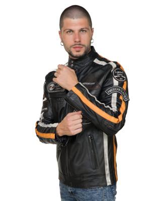 Colima - Giacca Donna Vera Pelle colore Verde Tamponato - 7