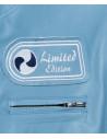 Raff - Women Jacket of Genuine Blue Oil Vintage Leather - 1