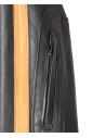 Raff - Women Jacket of Genuine Blue Oil Vintage Leather - 4