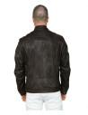 Vanessa - Women Genuine Blue Leather Jacket Oil Vintage - 2